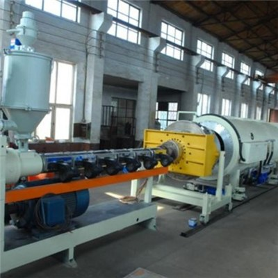 HDPE Large Diameter Thermal Insulation Pipe Production Line