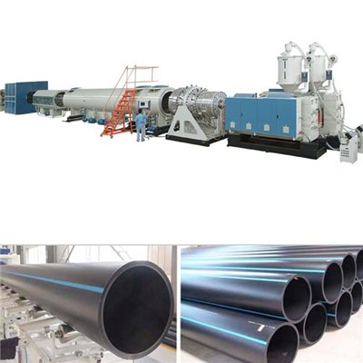 HDPE Water And Gas Pipe Production Line