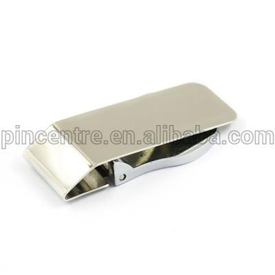 Silver Hinged Money Clips