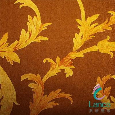 Factory China Wallpaper Supplier Washable Pvc Metalic Home Decor Wallpaper LCJH0028130