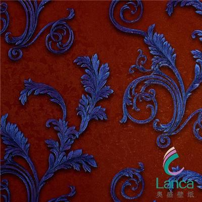 Hot Sale Pvc Classic Wallpaper Interior Wallpapering For Interior Decoration LCPE1341006