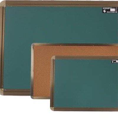 Portable Aluminium Frame Colorful Cork Board