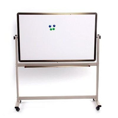 Movable And Ratary Aluminium Frame Whiteboard Or Green Blackboard