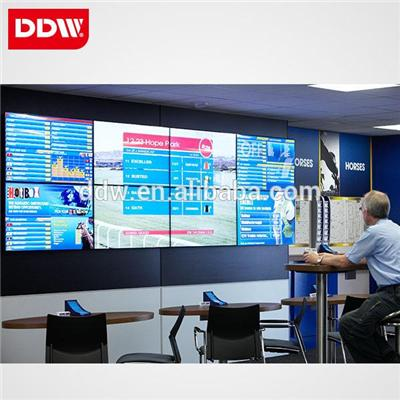 China factory drop ship 55inch Samsung Video Wall 3.5 - 5.3mm bezel 500 nits 1920 *1080 LED Backlit