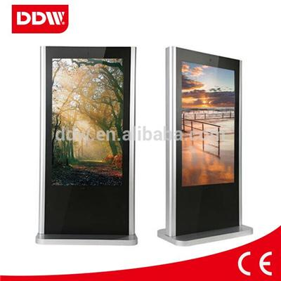 65 Inch digital advertising player Digital Poster floor stand with software