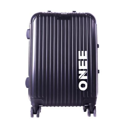 Custom Brand Colorful ABS Hardshell Wheels Travel Suitcase