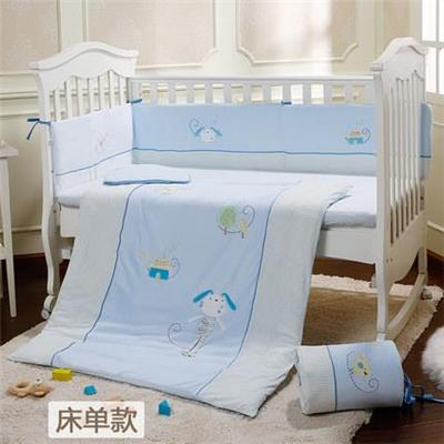Cotton Material Blue Angel Baby Boy Quilt