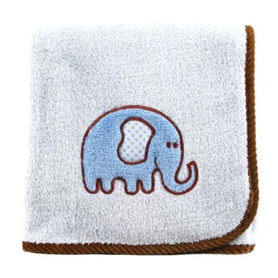 Hot Sales In The USA Softtextile Cotton Terry Baby Blankets With Applique