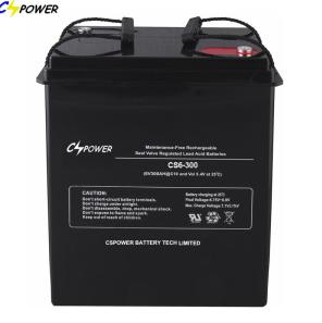 Chinese 6V300Ah Lead Acid Batteries CE ISO IEC Approved