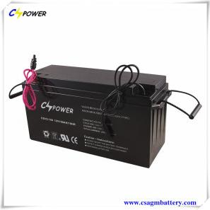 3years Warranty 12V150Ah Deep Cycle Solar Gel Battery For Solar And Wind