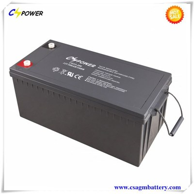 12V200Ah Lead Acid Batteries For UPS And Solar