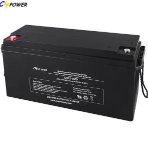 Produce 12V150Ah Deep Cycle Solar Battery Long Life Over 10years