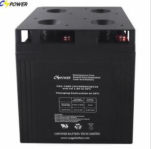 Chinease 2V1500Ah AGM Battery Factory