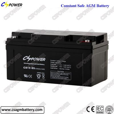 Good Quality Storage Battery UPS Battery Deep Cycle Battery 12V 65ah