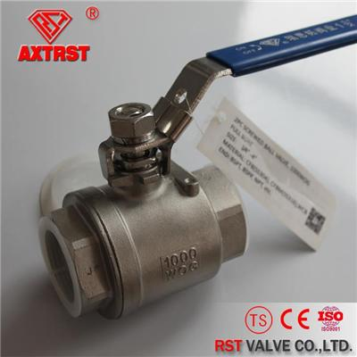 2PC PN64 Full Port Stainless Steel Floating Ball Valve
