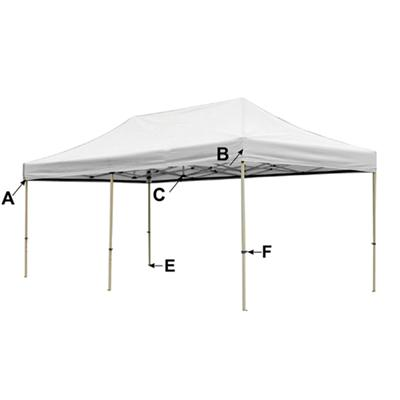 Favor Outdoor Folding Instant Canopy 3x6M