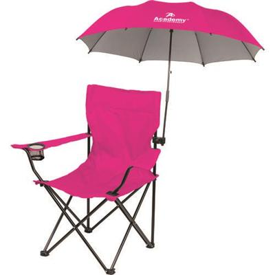 Favoroutdoor Foldable Sports Beach Chair With Clamp On Umbrella