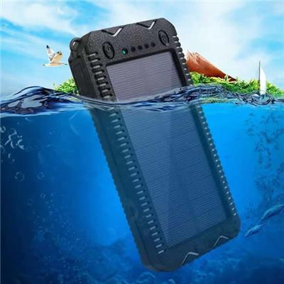 15000mah Wateproof Solar Charger With Cigar Lighter