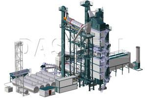 Recycle Asphalt Mixing Plant