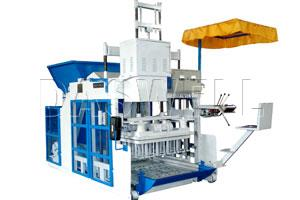 DMBE Mobile Electric Block Making Machine