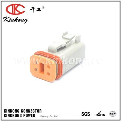 4 Way Replacement DEUTSCH Female Waterproof Auto Electrical DT Series Connector DT06-4S