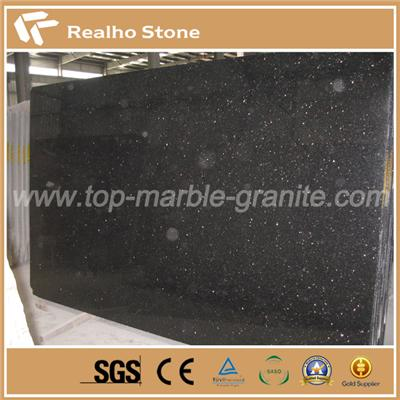 Big Size Black Galaxy Granite Slabs for Sale