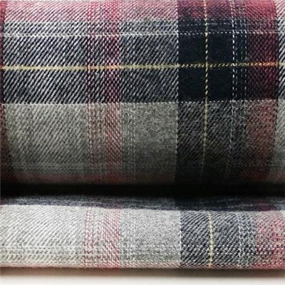 Yarn Dye Pure Cotton Heather Look Flannel