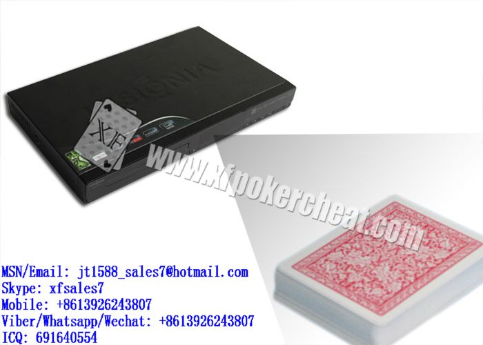 XF DVD Infrared Camera For Bar-Codes Marked Playing Cards Is To Work With Poker Predictor