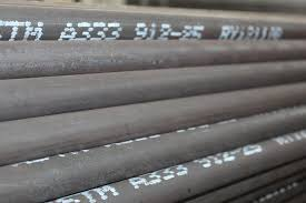 Low Temperature Steel Pipes ASTM A333 STEEL PIPES Impact Value