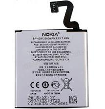 Original OEM Battery For Nokia Lumia 920 920T 2000mAh BP-4GW