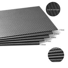 Glossy Twill Carbon Fiber Sheets