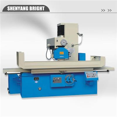 Easy Operation Manual Surface Grinding Machine with Horizontal Spindle and Rectangular Table for Industrial Machining
