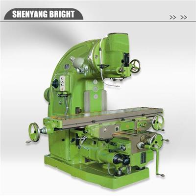 High Quality Heavy Duty Manual Knee Type Vertical Milling Machine Price