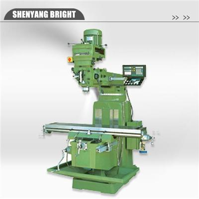Easy Operation Light Duty Radial Universal Turret Knee Type Milling Machine