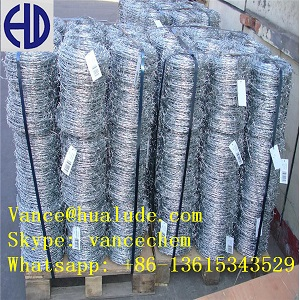 Galvanized Barded Wire China Factory