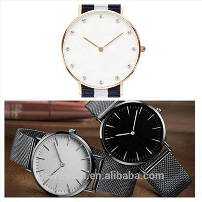 Silver Meshband Watch Stainless Steel Quartz Watch