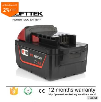 Superior Electric tools 28v milwaukee battery XC Drilling machine Lithium-ion Battery for sale