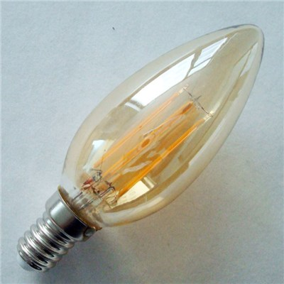 Candle Vintage LED Filament Bulb 4W