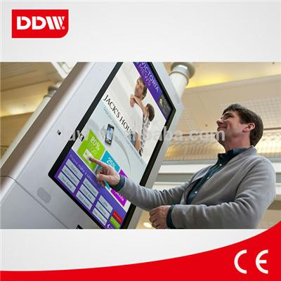 19 Inch Wall Mount Touch Screen digital signage advertising player CMS sfotware