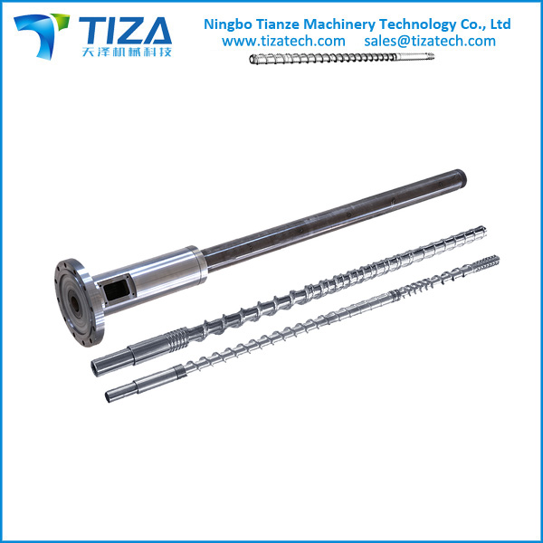 Screw and Barrel for Injection/Extrusion Machine