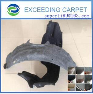 nonwoven fabric felt for automotive thermoforming part
