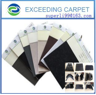 polyester felt for automotive thermoforming part