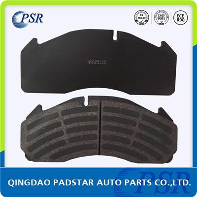 CV Brake Pad WVA29125 With Damped Coating,semi metallic brake pad,low price