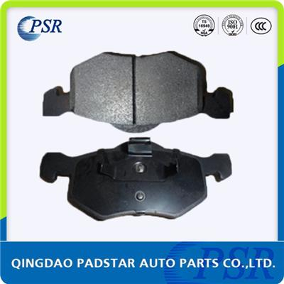 Semi-metal Auto Parts,car Brake Pads, Fit for Mitsubishi, Silent Braking Action