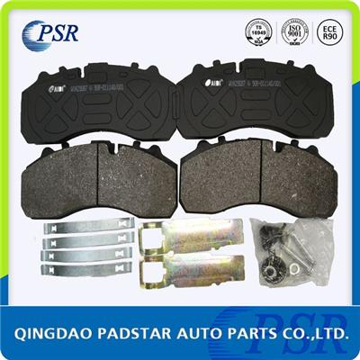 E1 Certificated, Truck Brake Pad, WVA29087 with Full Kits, For Benz Renault Daf