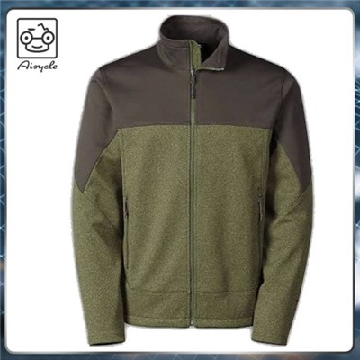 New Style 100%polyester Mens Sport Heather Winter Jacket