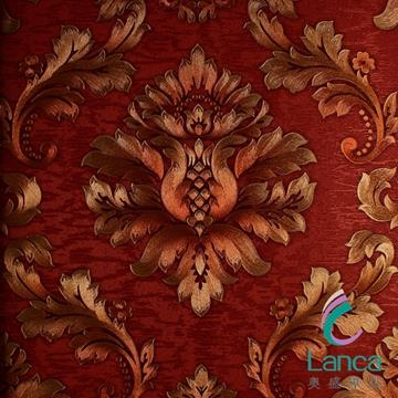 New Product Latest Design Pvc Classic Wallpaper LCPE081 888105