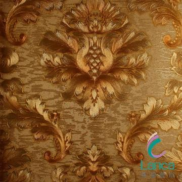 Project Wallpaper With Embroidery Itanlian Classical Wall Paper LCPE081 888103