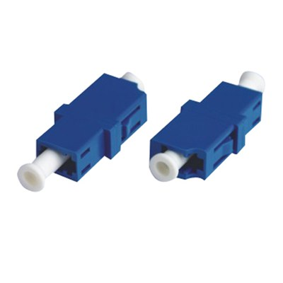 Singlemode Simplex LC Type Fiber Optic Adapter