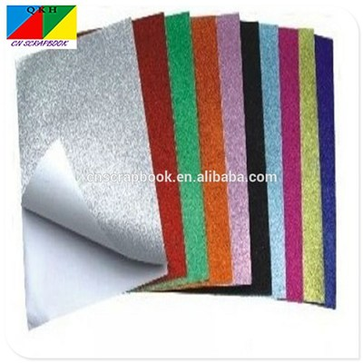 Glitter Ahensive Paper